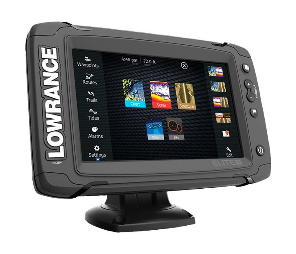 Картплоттер Lowrance Elite 7 TI Mid/High/TotalScan 12419001