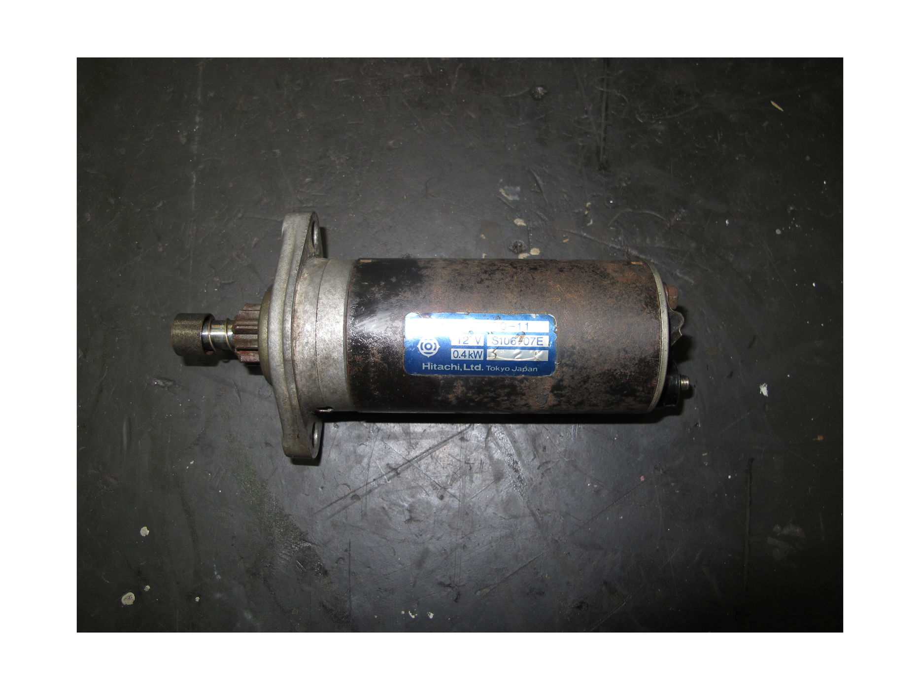 Стартер Yamaha 6C/8C/9.9F/15F/20D/25N, S106-07E (6L2-81800-20) , б/у 6L2818001100 usedДругие<br><br>