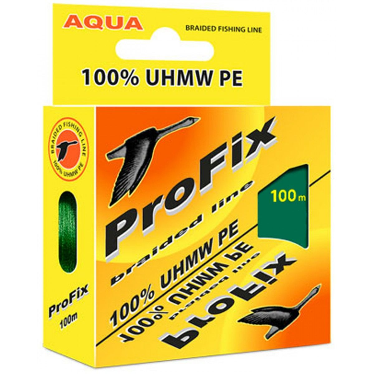Плетеный шнур ProFix Dark Green 0,12mm 100m tr-146677 фото
