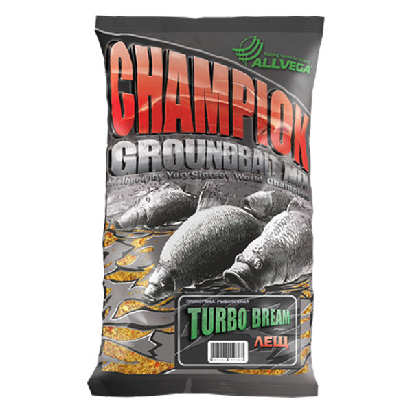 "Прикормка ALLVEGA ""Champion Turbo Bream"" 1кг (ТУРБО ЛЕЩ) 4627092150763"