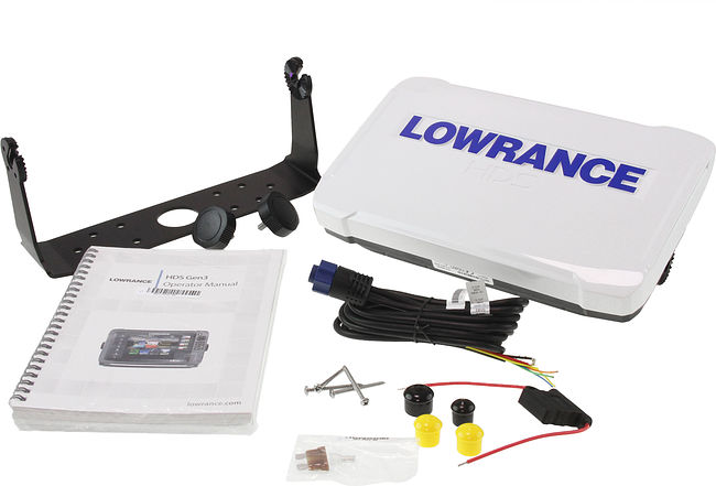 картплоттер Lowrance HDS 9 TOUCH GEN3