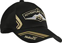 Бейсболка Helios Adventures Ahead цв.черный б/р (HS-AA-B-303-03A)