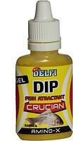 Аттрактант зимний DELFI DIP WINTER GEL CRUCIAN (карась, аромат AMINO, 20 мл)