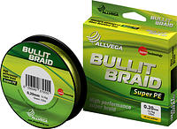 "Шнур плетёный ALLVEGA ""Bullit Braid"" 92м 0,12мм (7,1кг)"